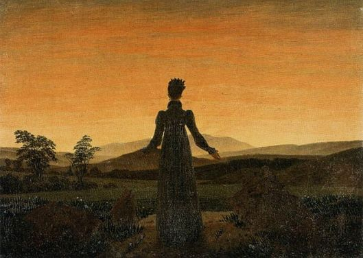 640px-Caspar_David_Friedrich_-_Woman_before_the_Rising_Sun_(Woman_before_the_Setting_Sun)_-_WGA08253